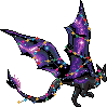 Christmas Purple Nebula Dragon