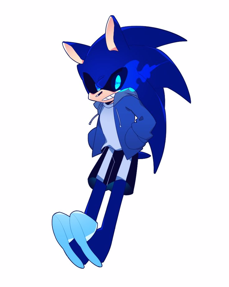 Sonic and sans combined