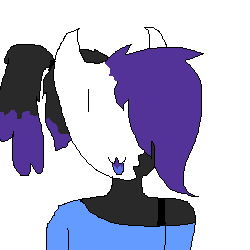 My persona(edgy demon form thing that IS NOT A BATIM OC!)
