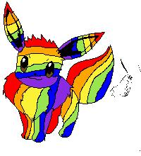 Rainbow evee complete