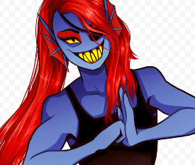 undyne she's going to fight?