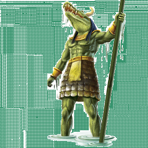 Sobek -egyptian god-