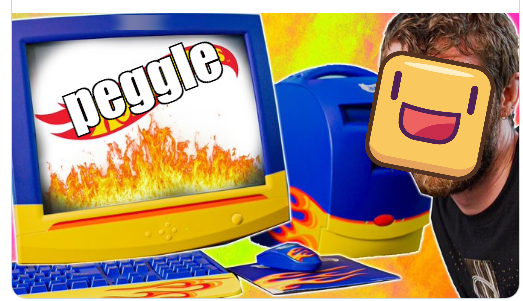 this is a different computer this is made by peggle