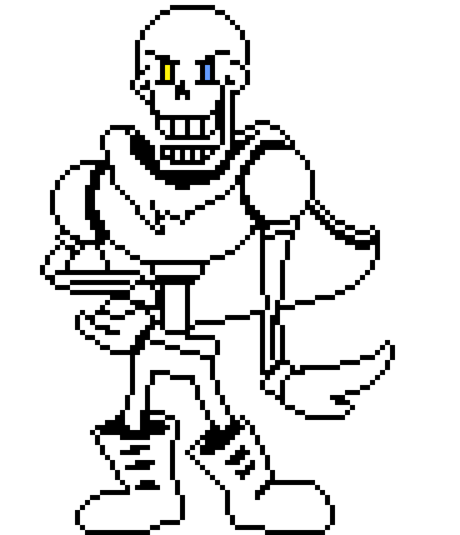 Ink! Papyrus Sprite feel free to use